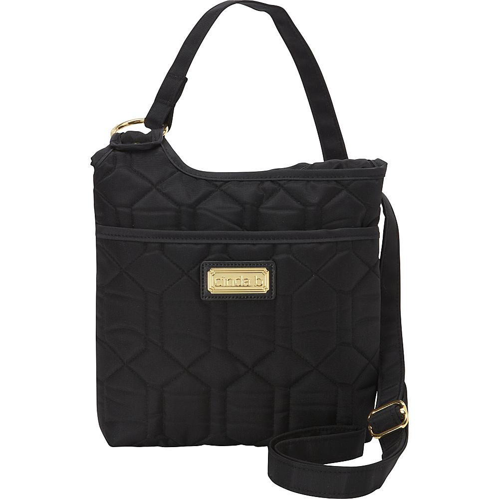 cinda b Hipster II Noir cinda b Fabric Handbags