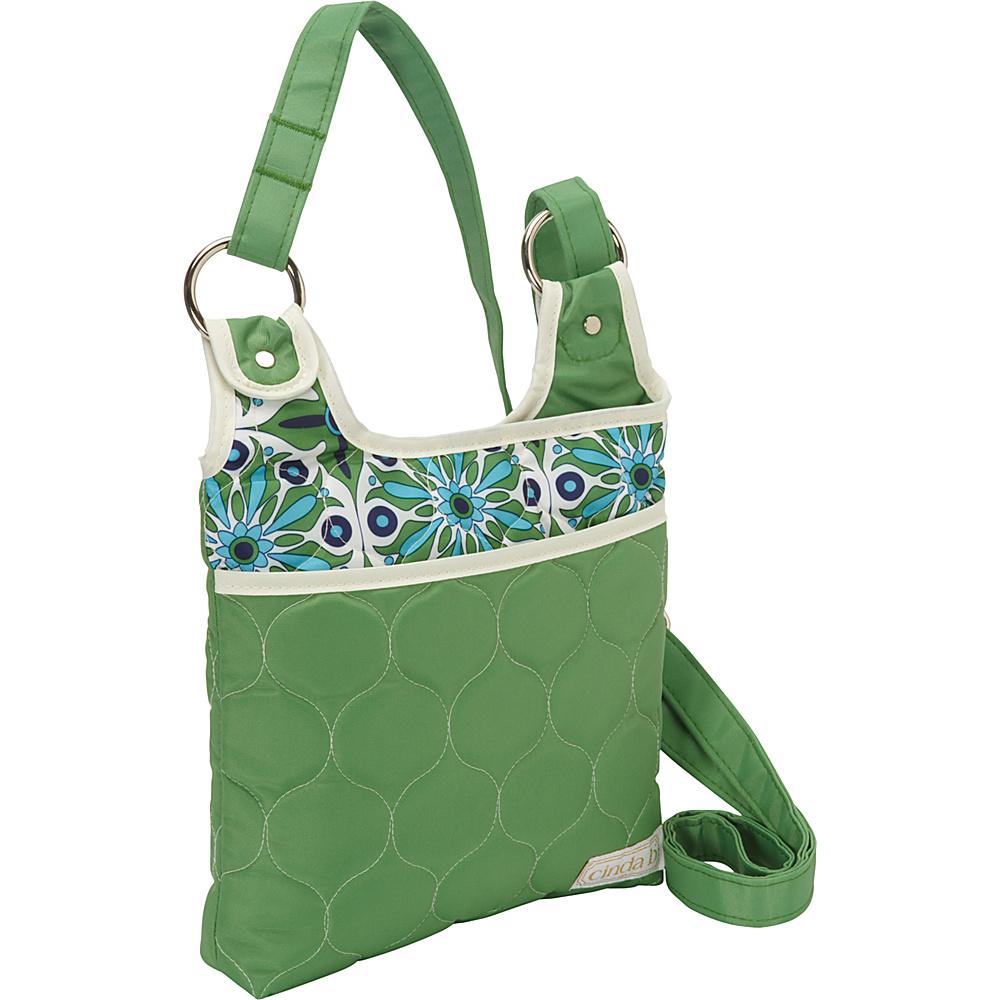 cinda b Hipster II Verde Bonita cinda b Fabric Handbags