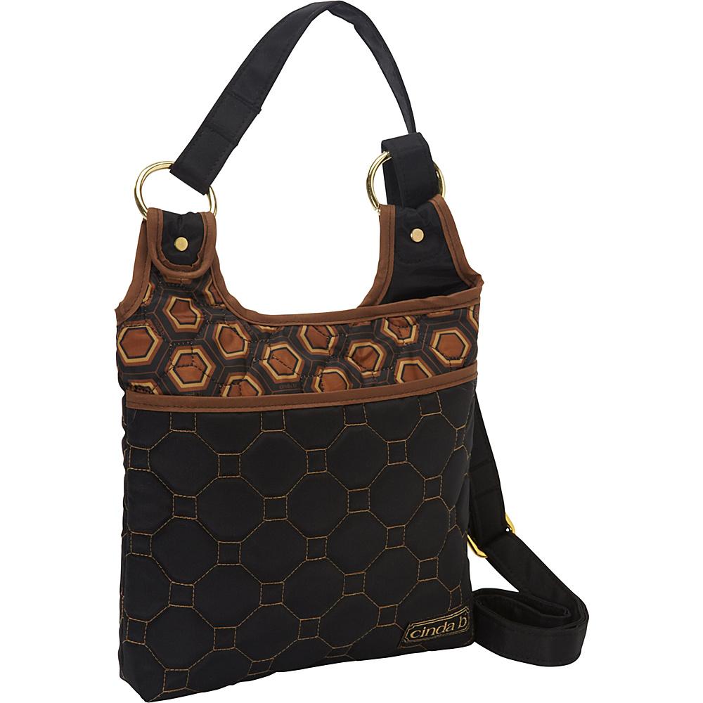 cinda b Hipster II Mod Tortoise cinda b Fabric Handbags