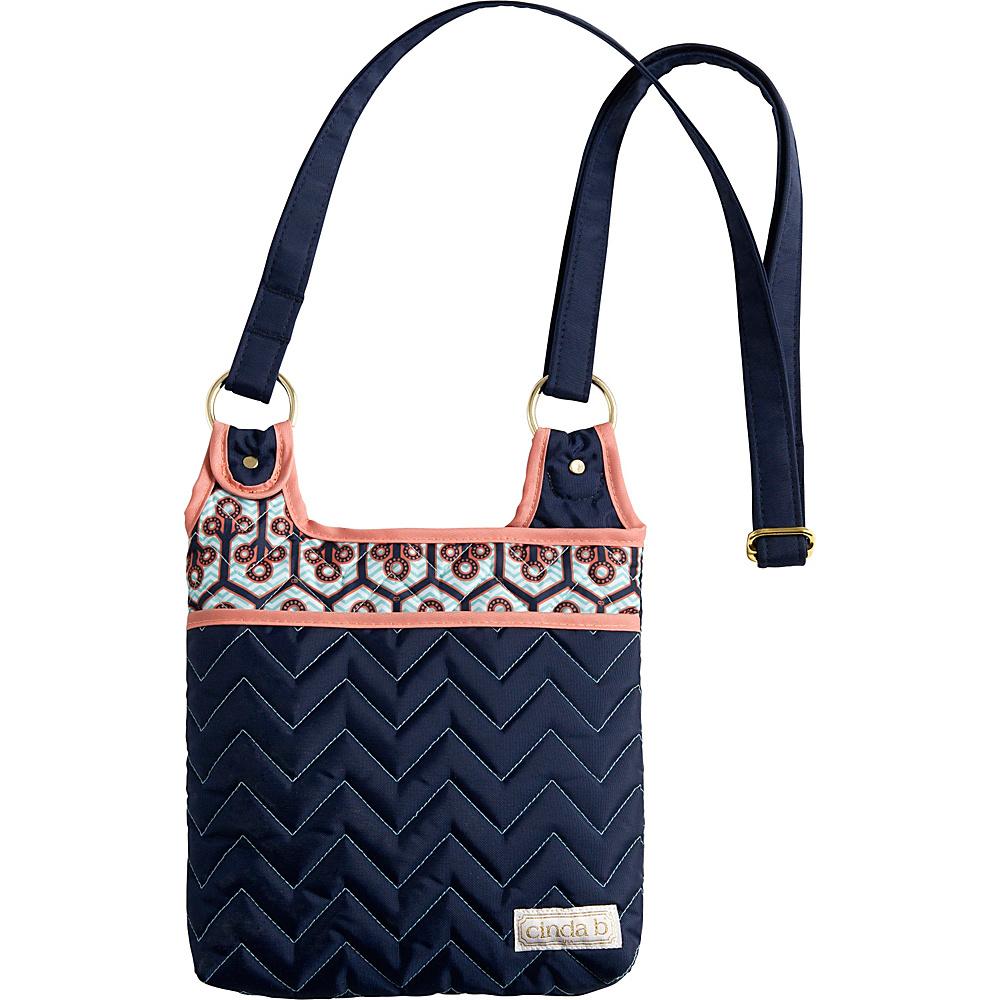 cinda b Hipster II Neptune cinda b Fabric Handbags