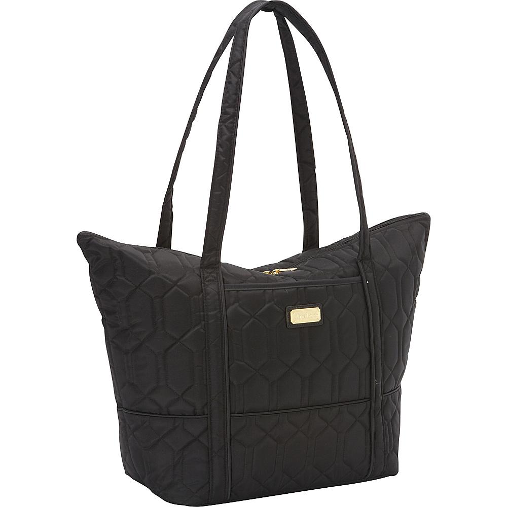 cinda b Super Tote II Noir cinda b Fabric Handbags
