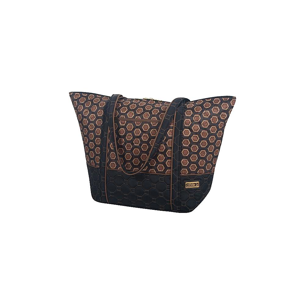 cinda b Super Tote II Mod Tortoise cinda b Fabric Handbags