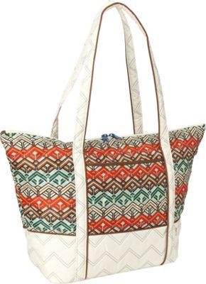 cinda b Super Tote II Ravinia Ivory - cinda b Luggage Totes and Satchels