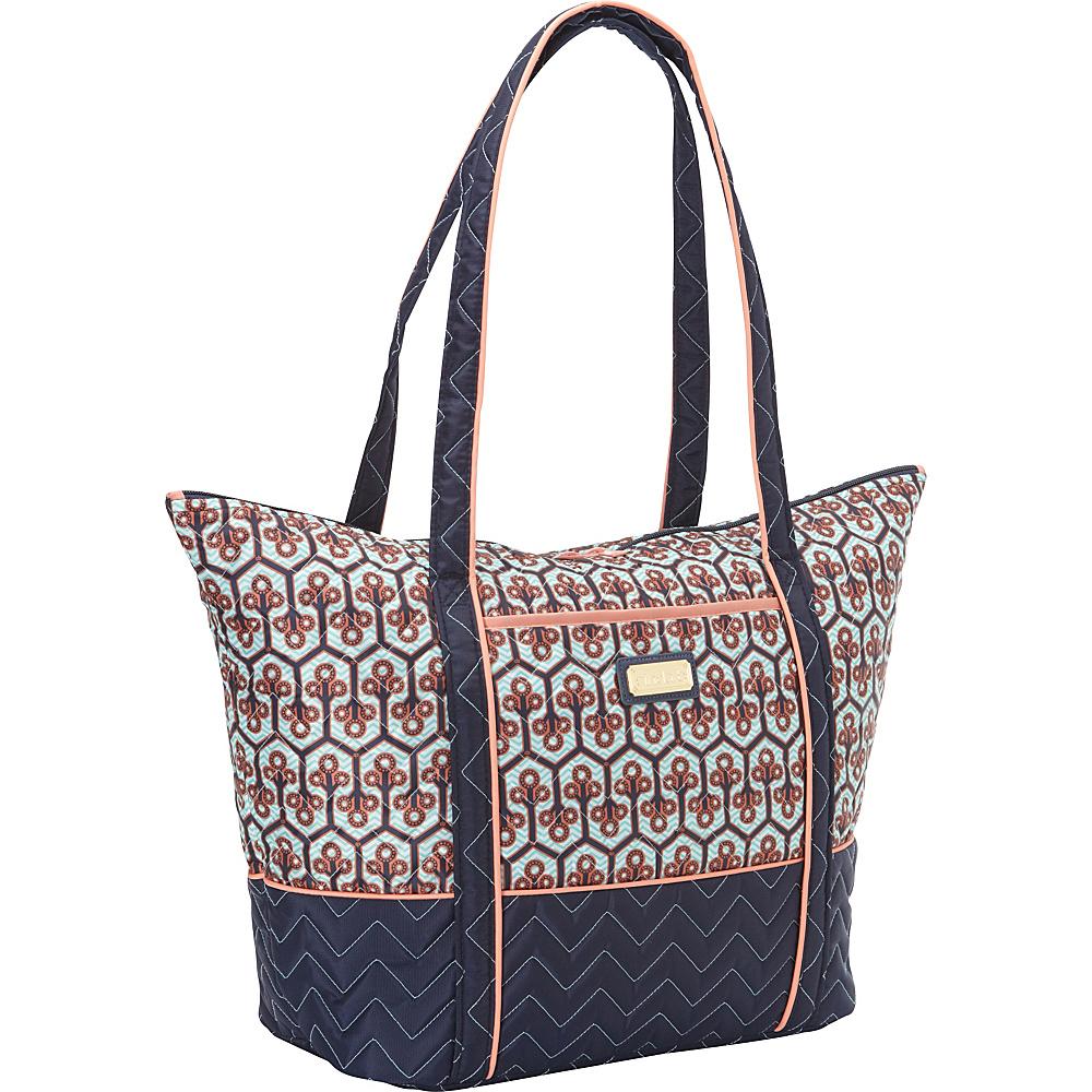 cinda b Super Tote II Neptune cinda b Fabric Handbags