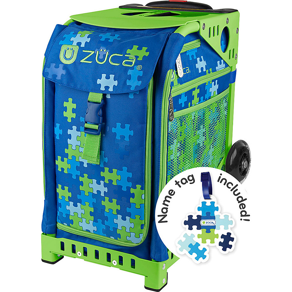 ZUCA ZUCA Sport Puzzle Green Frame Puzzle ZUCA Other Sports Bags