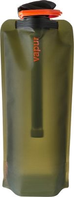 Vapur Microfilter 1L Olive - Vapur Hydration Packs and Bottles