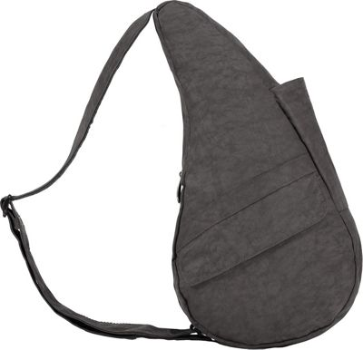 AmeriBag Healthy Back Bag & Distressed Nylon Small Stormy Grey - AmeriBag Fabric Handbags