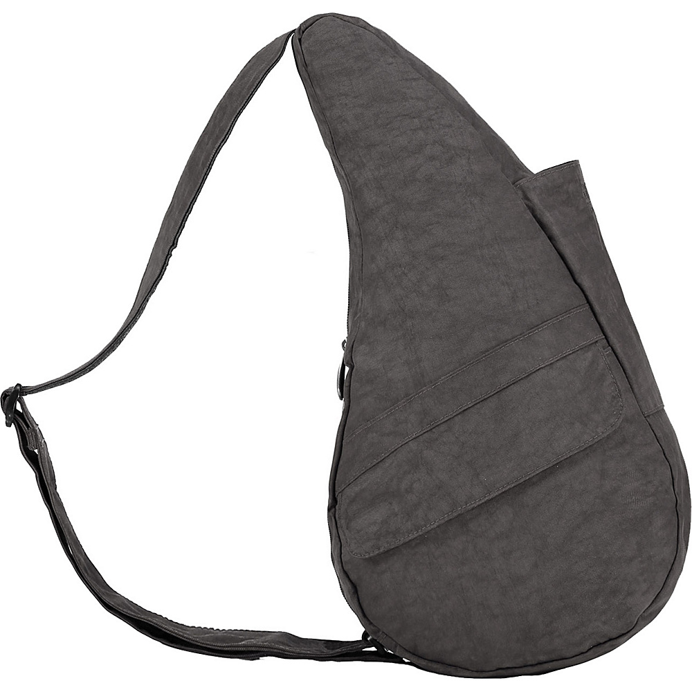 cd6b7531b242 ... UPC 751470025146 product image for AmeriBag Healthy Back Bag evo  Distressed Nylon Small Stormy Grey ...
