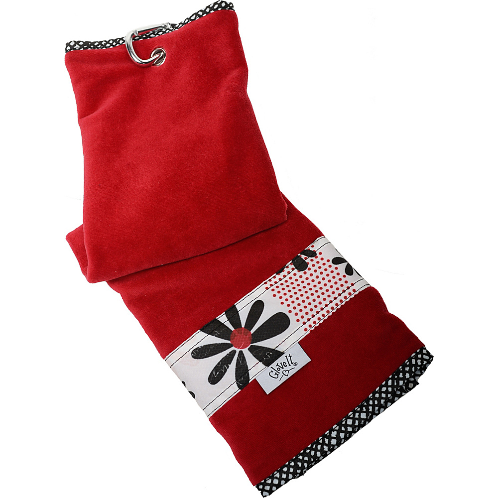 Glove It Golf Towel Daisy Script Glove It Sports Accessories
