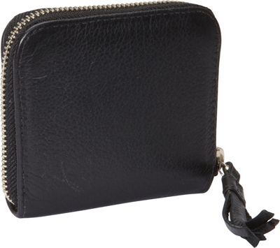 J. P. Ourse & Cie. Raindrop Wallet Black - J. P. Ourse & Cie. Women's Wallets