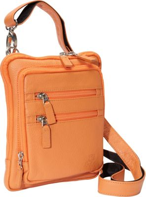 J. P. Ourse & Cie. Barclay Tangerine - J. P. Ourse & Cie. Leather Handbags