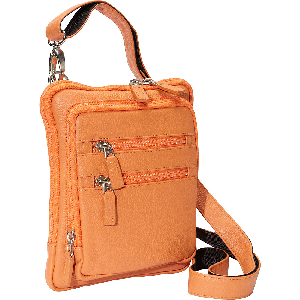 J.P. Ourse & Cie. Barclay Tangerine - J.P. Ourse & Cie. Leather Handbags