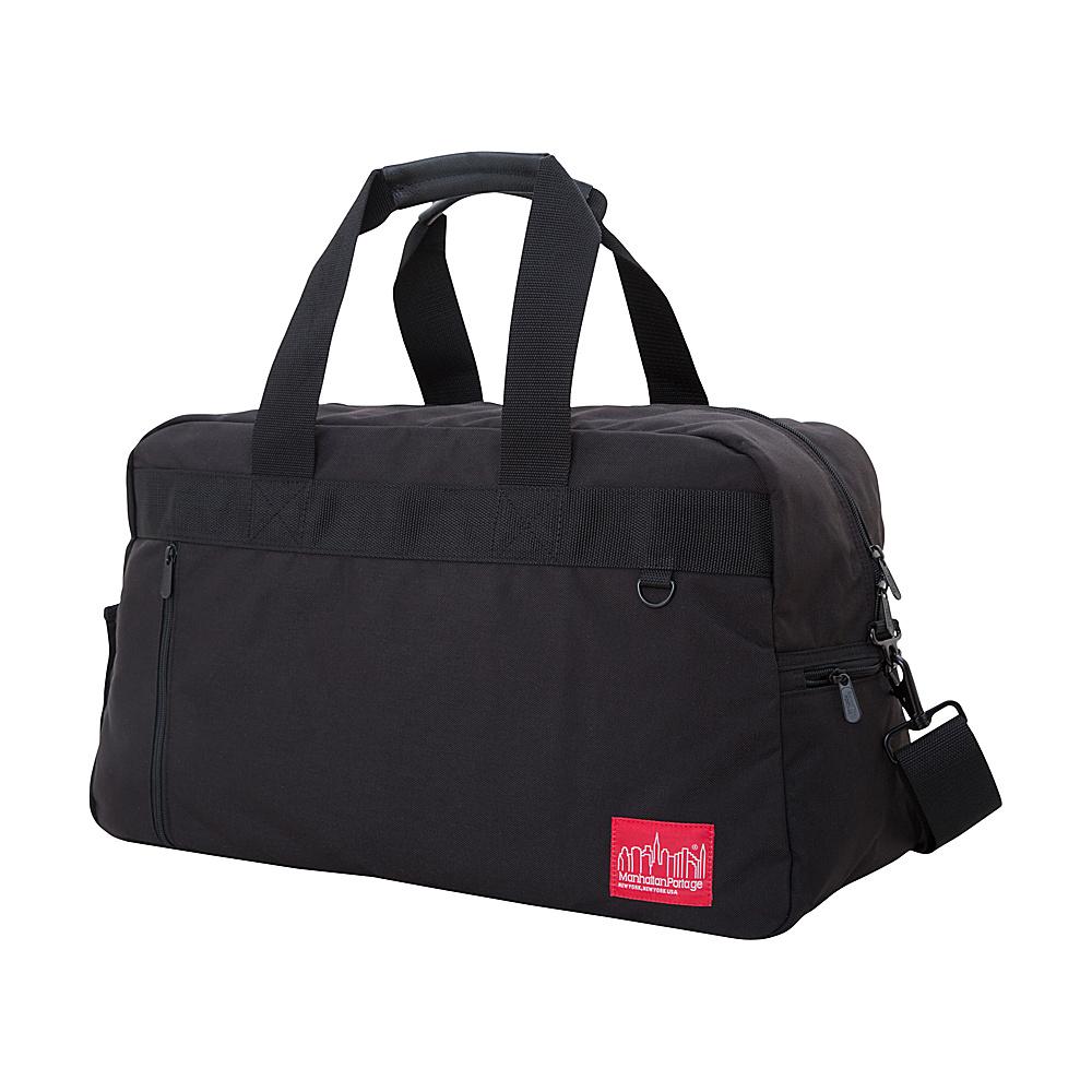 Manhattan Portage Duffel Bag Featuring CORDURA Brand Fabric Black - Manhattan Portage Rolling Duffels