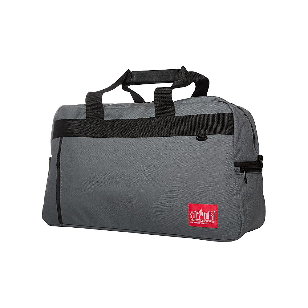 Manhattan Portage Duffel Bag Featuring CORDURA Brand Fabric Gray - Manhattan Portage Rolling Duffels - Luggage, Rolling Duffels