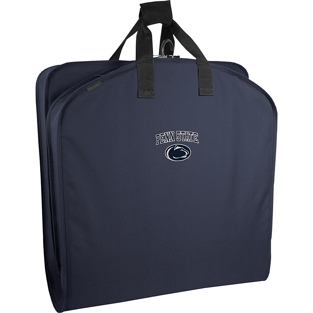 Wally Bags Penn State Nittany Lions 40 Suit Length Garment Bag with Handles Navy Wally Bags Garment Bags