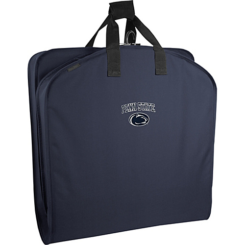 """Wally Bags Penn State Nittany Lions 40"""" Suit Length Garment Bag with Handles Navy - Wally Bags Garment Bags"""