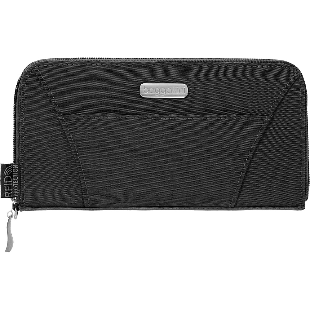baggallini RFID Wallet Black/Sand - baggallini Womens Wallets - Women's SLG, Women's Wallets