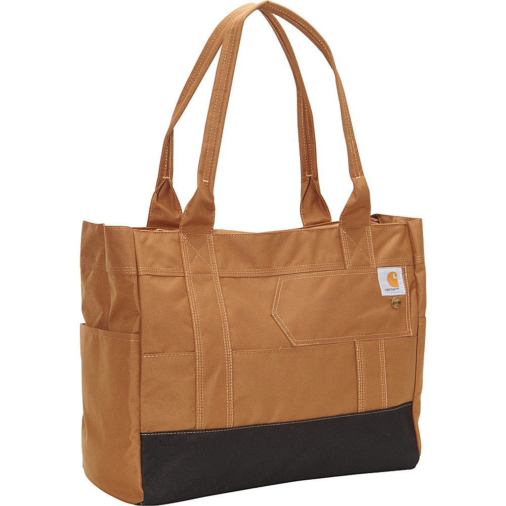 Carhartt Womens East West Tote Carhartt Brown Carhartt All Purpose Totes