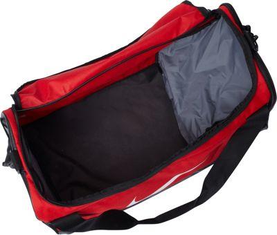 Nike Brasilia 6 Medium Duffel University Red/Black/White - Nike Gym Duffels