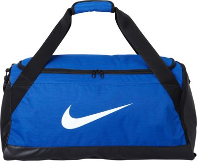 Nike Nike Brasilia 6 Medium Duffel Game Royal/Black/White - Nike Gym Duffels