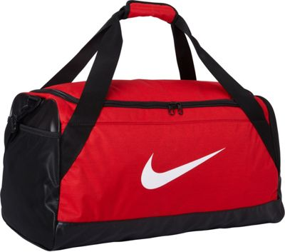 Nike Brasilia 6 Medium Duffel University Red/Black/White - Nike Gym Duffels