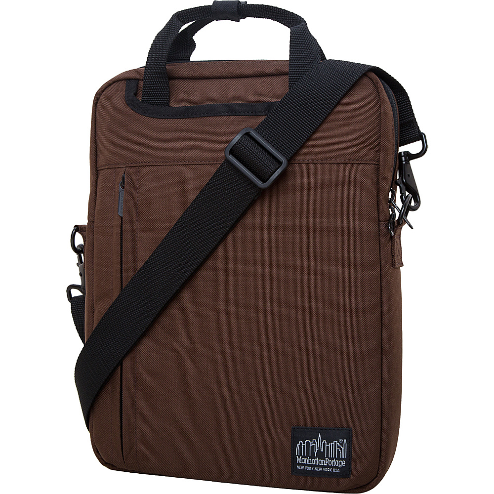 Manhattan Portage Commuter Jr. 13 Laptop Bag Dark Brown - Manhattan Portage Other Mens Bags - Work Bags & Briefcases, Other Men's Bags