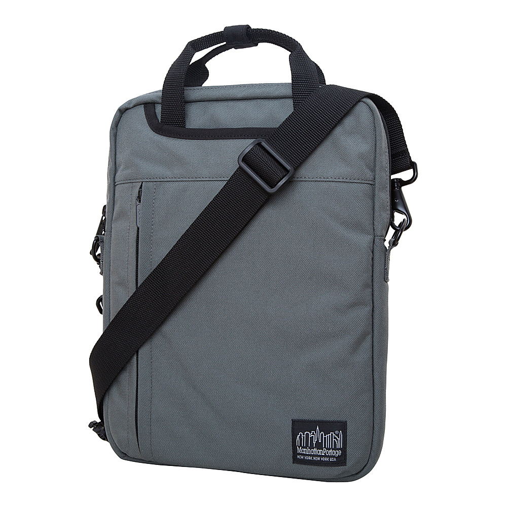 Manhattan Portage Commuter Jr. 13 Laptop Bag Gray - Manhattan Portage Other Mens Bags - Work Bags & Briefcases, Other Men's Bags