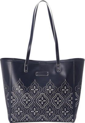 Vera Bradley Laser-Cut Tote Morocco Navy - Vera Bradley Manmade Handbags