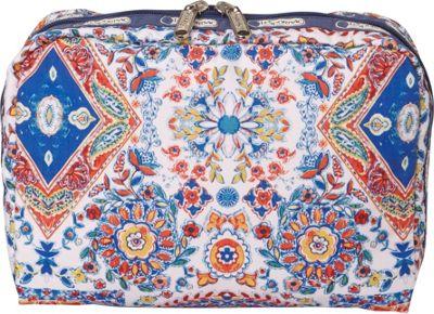 LeSportsac Extra Large Rectangular Cosmetic Bag Sunburst Spring - LeSportsac Women's SLG Other 10546558