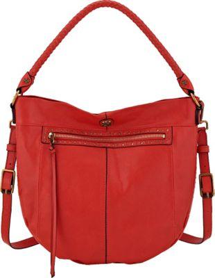 Elliott Lucca Faro Hobo Fire Stud - Elliott Lucca Designer Handbags