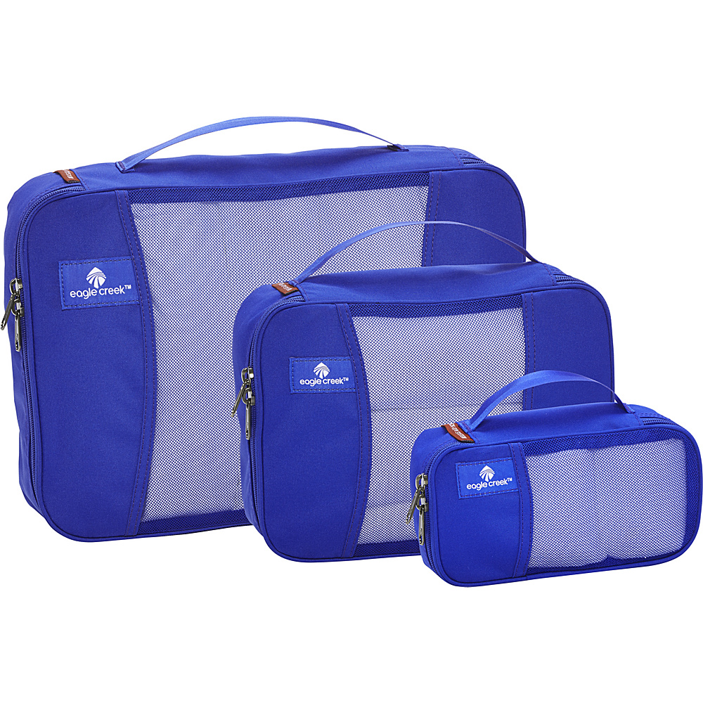 Eagle Creek Pack-It Cube Set Blue Sea - Eagle Creek Travel Organizers - Travel Accessories, Travel Organizers