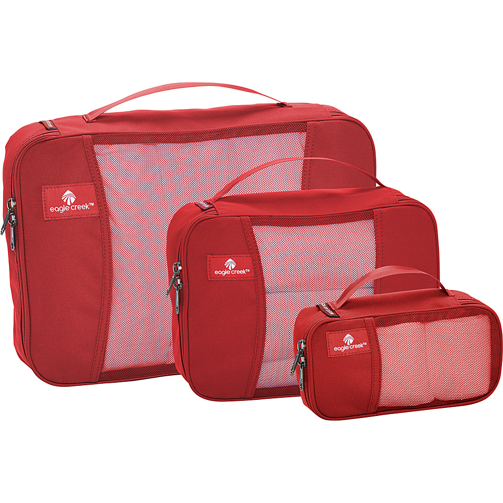 Eagle Creek Pack-It Cube Set Red Fire - Eagle Creek Travel Organizers - Travel Accessories, Travel Organizers