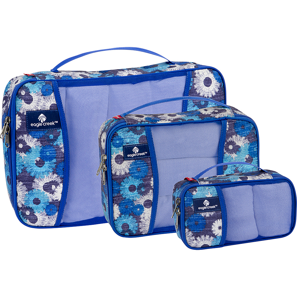 Eagle Creek Pack-It Cube Set Daisy Chain Blue - Eagle Creek Travel Organizers - Travel Accessories, Travel Organizers