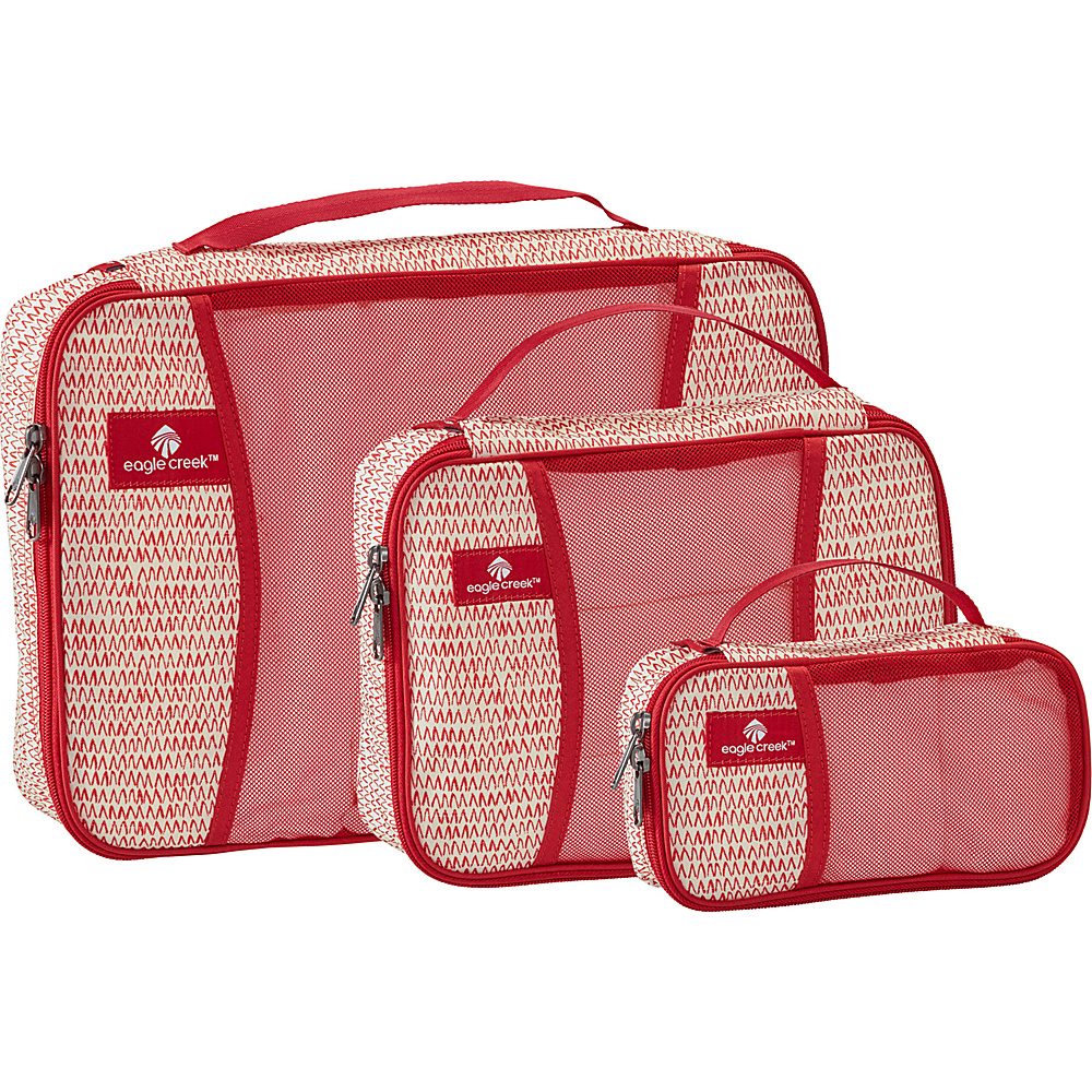 Eagle Creek Pack-It Cube Set Repeak Red - Eagle Creek Travel Organizers - Travel Accessories, Travel Organizers