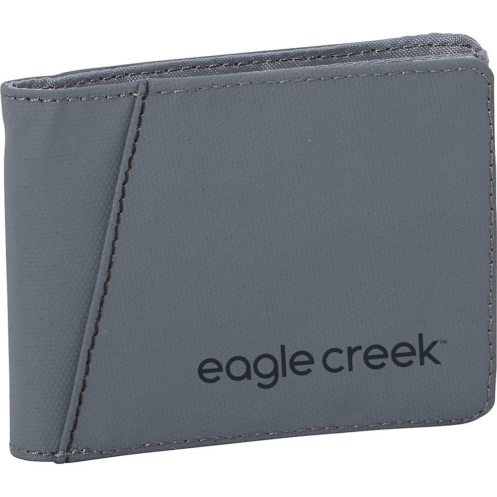 Eagle Creek Bi-Fold Wallet Stone Grey - Eagle Creek Mens Wallets