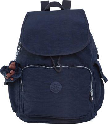 Kipling Ravier Backpack True Blue - Kipling School & Day Hiking Backpacks