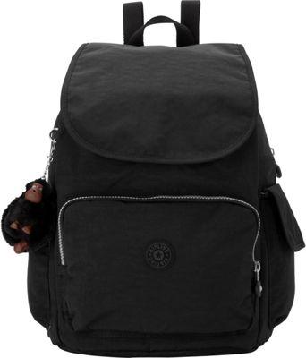 Kipling Ravier Backpack Black - Kipling School & Day Hiking Backpacks
