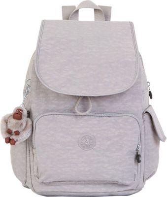 Kipling Ravier Backpack Slate Grey - Kipling School & Day Hiking Backpacks