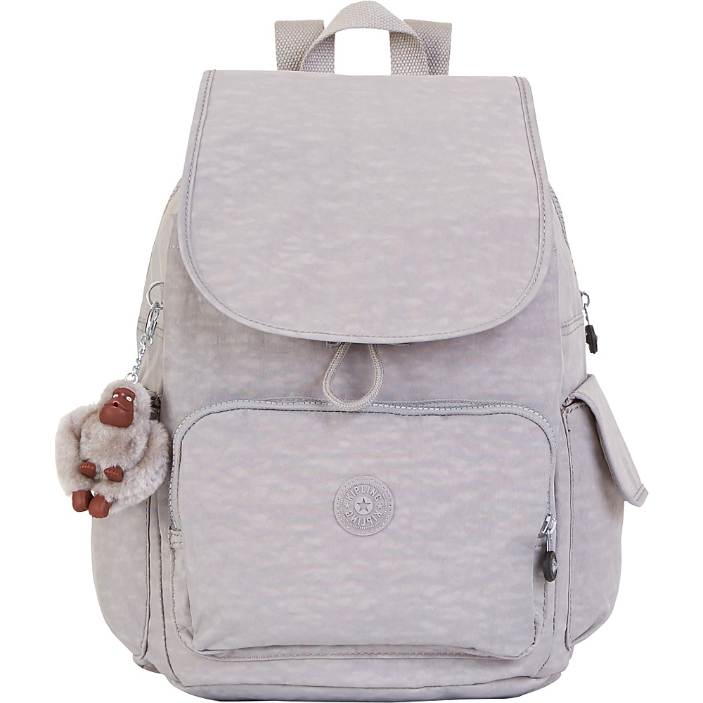 Kipling Ravier Backpack Slate Grey - Kipling School & Day Hiking Backpacks