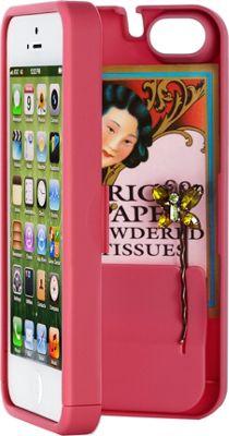 eyn case iPhone 5/5s/SE Wallet/Storage Case Pink - eyn case Electronic Cases