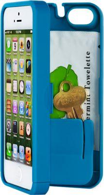 eyn case iPhone 5/5s/SE Wallet/Storage Case Turquoise - eyn case Electronic Cases