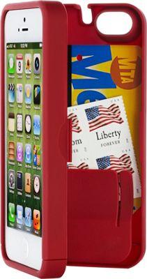 eyn case iPhone 5/5s/SE Wallet/Storage Case Red - eyn case Electronic Cases