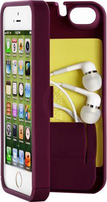 eyn case iPhone 5/5s/SE Wallet/Storage Case Syrah - eyn case Electronic Cases
