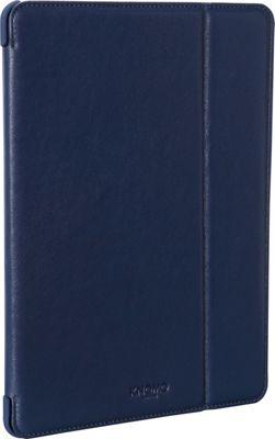 KNOMO London iPad Air Folio Blue - KNOMO London Electronic Cases