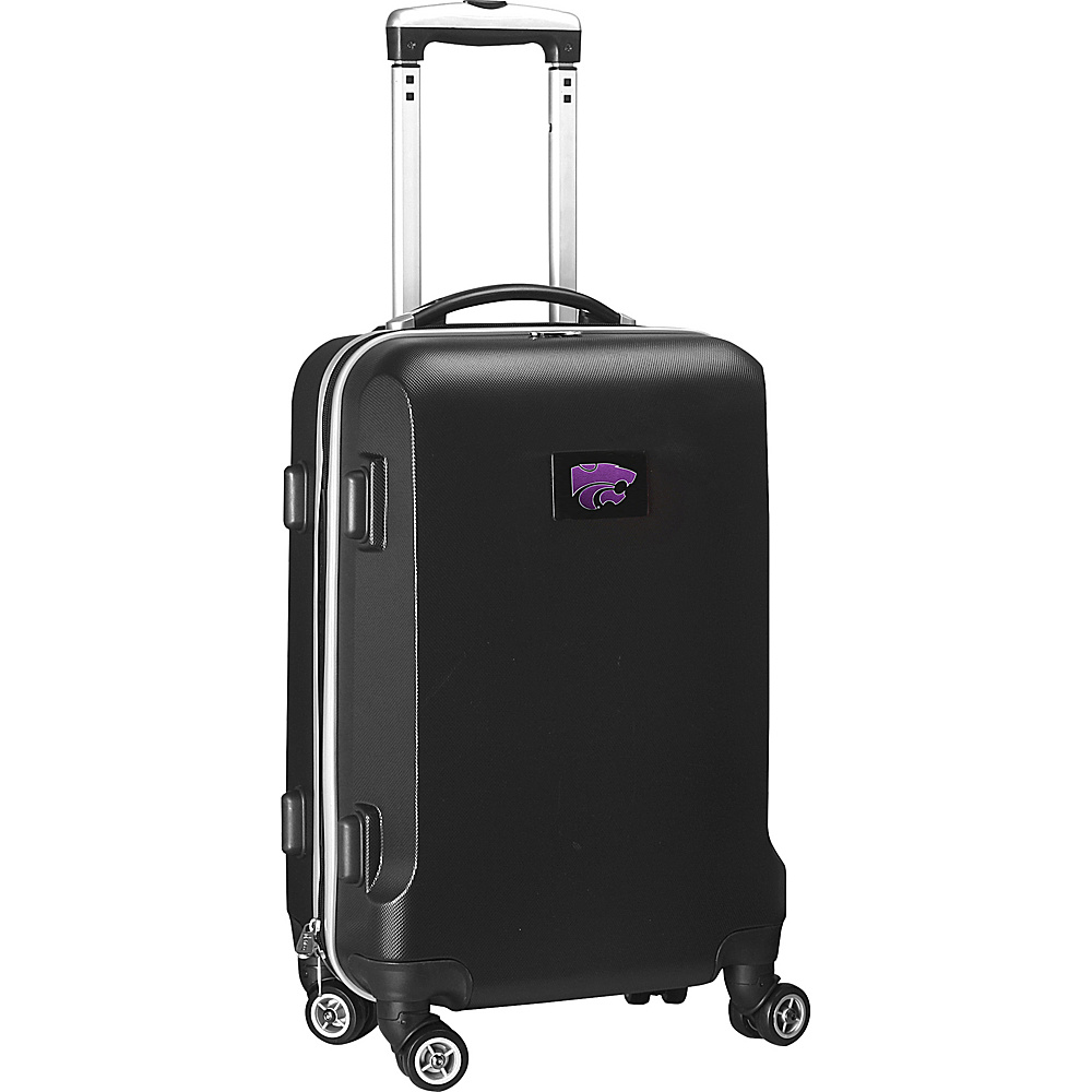 Denco Sports Luggage NCAA 20 Domestic Carry-On Black Kansas State University Wildcats - Denco Sports Luggage Hardside Carry-On - Luggage, Hardside Carry-On