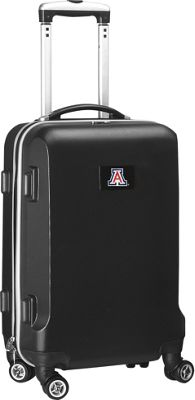 "Denco Sports Luggage NCAA 20"""" Domestic Carry-On Black University of Arizona Wildcats - Denco Sports Luggage Hardside Carry-On"