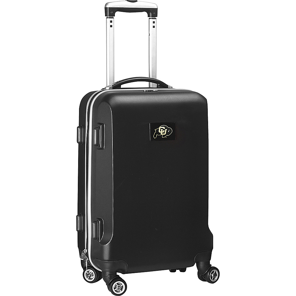 Denco Sports Luggage NCAA 20 Domestic Carry-On Black University of Colorado Boulder Buffaloes - Denco Sports Luggage Hardside Carry-On - Luggage, Hardside Carry-On