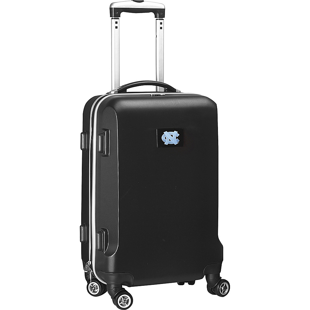 Denco Sports Luggage NCAA 20 Domestic Carry-On Black University of North Carolina at Chapel Hill Tar He - Denco Sports Luggage Hardside Carry-On - Luggage, Hardside Carry-On