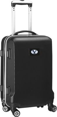 "Denco Sports Luggage NCAA 20"""" Domestic Carry-On Black Brigham Young University Cougars - Denco Sports Luggage Hardside Carry-On"" 10298838"