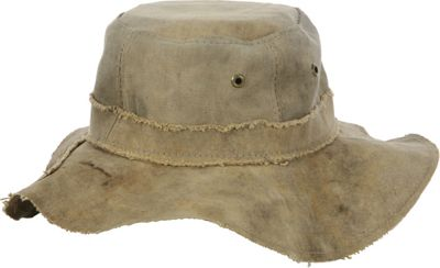 The Real Deal Floppy Hat - Extra Large One Size - Canvas - The Real Deal Hats/Gloves/Scarves